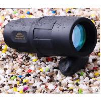 高倍高清光学玻璃镜片防水单筒望远镜简约便捷微光夜视望眼镜