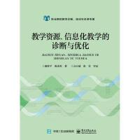 教学资源、信息化教学的诊断与优化 颜珍平 9787121353420 电子工业出版社教材系列