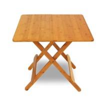 户外便携式小方桌儿童学习桌折叠桌楠竹折叠桌简易餐桌