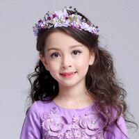 儿童发饰公主皇冠头饰韩版女童头花发夹小女孩发卡夹发饰品潮