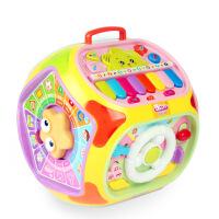 儿童益智早教多功能游戏桌学习屋 七面合一智能故事机婴幼儿玩具