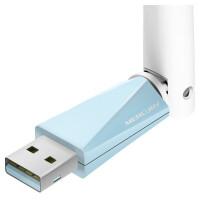 水星 MW150UH 免驱版迷你USB无线网卡随身wifi软AP家用穿墙台式机笔记本电脑150M无线信号发射器接收器加