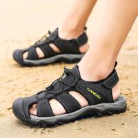 男士凉鞋2019新款夏季凉拖鞋户外韩版潮流百搭情侣款休闲鞋沙滩鞋