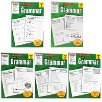 英文原版学乐成功系列 Scholastic Success with Grammar 5册 语法练习 小学生高年级家庭