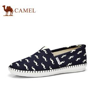 骆驼牌男鞋 新款低帮帆布鞋男士时尚休闲鞋子男舒适潮鞋休闲鞋
