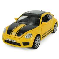 嘉业大众甲壳虫GSR限量版声光合金车模型儿童玩具车