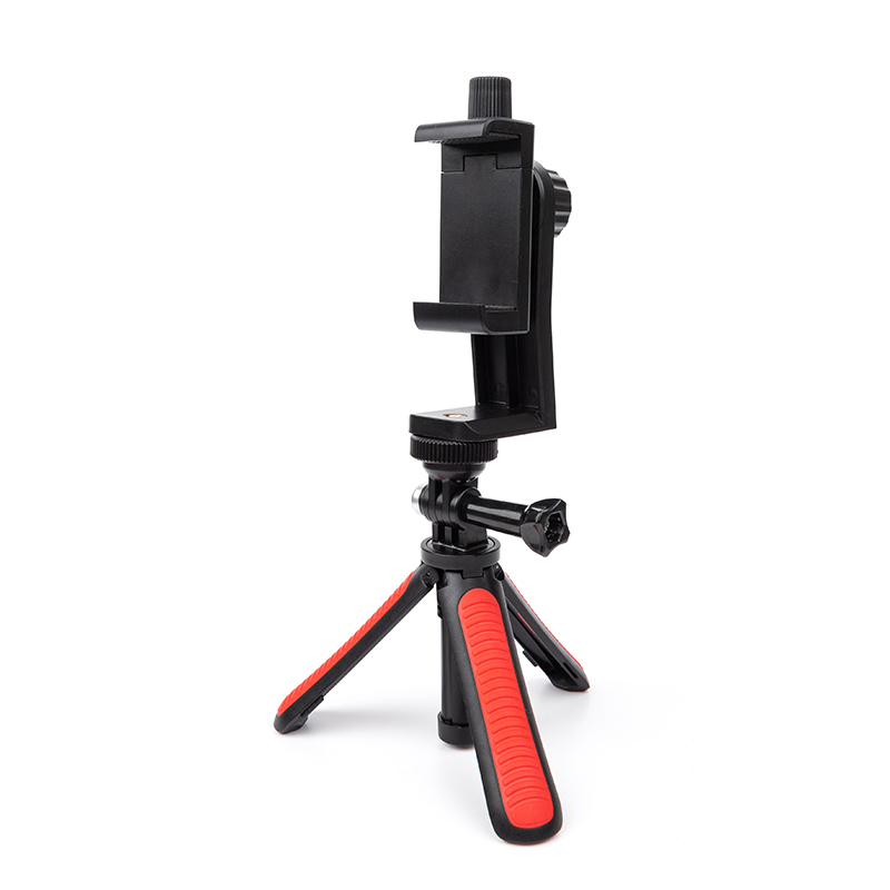 手机支架桌面便携迷你三脚架手持拍照架gopro相机固定拍摄三角架
