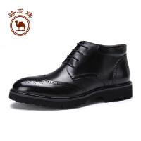 骆驼牌男鞋 秋冬时尚潮靴男士耐磨保暖休闲靴子