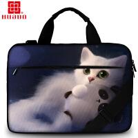 联想电脑包华硕男苹果手提13/14/15.6/17.3英寸商务休闲单肩包女