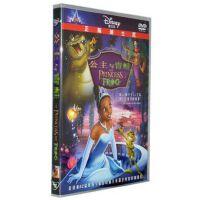 原装正版 公主与青蛙 盒装 DVD D9碟片 迪士尼动画片Disney 中英双语 卡通片