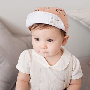 货到付款 Yinbeler四季宝宝鸭舌帽0-1-2岁夏男女潮儿童太阳帽遮阳6-12个月婴儿帽子棒球帽