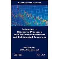 【预订】Estimates of Stochastic Processes with Stationary Incre