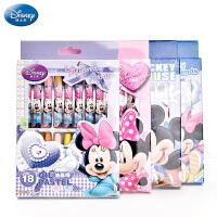 迪士尼正版蜡笔 12 18 24 36色套装幼儿园儿童油画棒盒装绘画文具