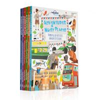 Lonely Planet Kids Adventures 孤独星球儿童 SETM教育旅行贴纸书 6册