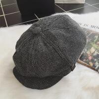 №【2019新款】冬天带的新品休闲帽子时尚英伦男士鸭舌帽贝雷帽八角帽报童帽潮