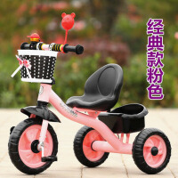 迪童儿童三轮车脚踏车单车1-3-5-2-6岁大号手推车男女宝宝自行车