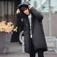 Y967-340男装冬季新款羽绒服保暖加厚面包服外衣学生中长款外套