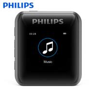 飞利浦SA2816 MP3 蓝牙4.0 插卡型 无损HIFIi 发烧母带级DSD音乐播放器 学生MP3随身听
