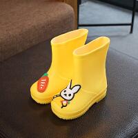 20190821201955063防雨鞋套防水雨天儿童韩国可爱四季新款硅胶鞋套两用防滑加厚耐磨底防雨靴套1-10岁小孩