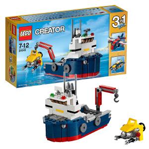 [当当自营]LEGO 乐高 Creator创意百变系列 深海探险交通组 积木拼插儿童益智玩具31045