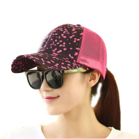 女夏天户外网帽休闲棒球帽夏季遮阳帽凉帽太阳帽鸭舌帽