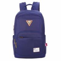 新仕高学生书包 0045韩版双肩包 黑色/深蓝运动休闲包 学生旅行包