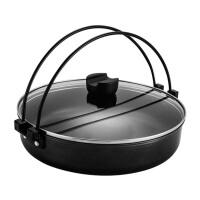 26CM和风烧锅火锅带提手汤锅煎锅平底锅电磁炉通用