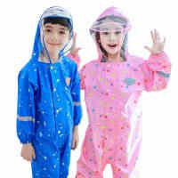 kocotree儿童雨衣雨裤套装男女童连体小孩雨衣小学生时尚全身雨衣