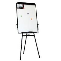 得力7892支架式可移动白板 三脚架画板60*90 办公室会议白板