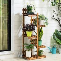淘之良品实木花架子多层落地式多肉阳台置物装饰客厅绿萝盆室内置物架