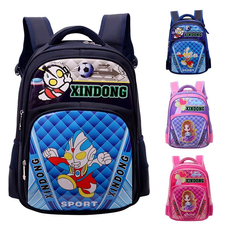 开学必备小学生书包 小学生书包 1-3-4-6年级男女生双肩儿童书包背包 开学礼物