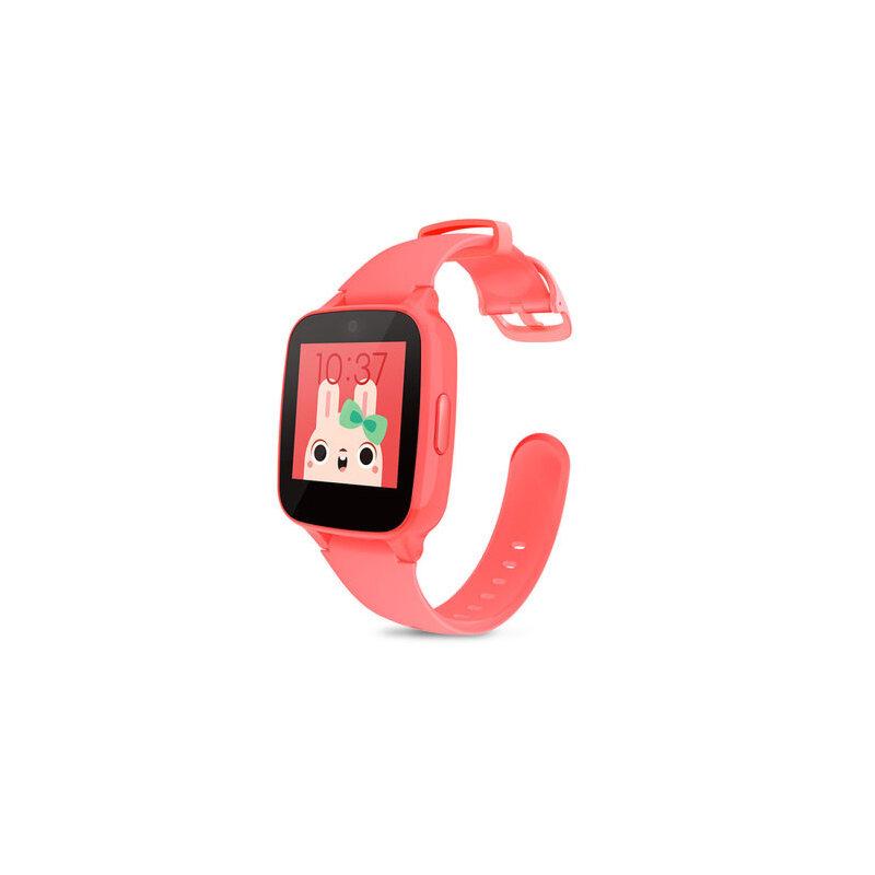糖猫儿童电话手表GPS智能定位M1 通话手环学生手机插卡触摸屏 红 下单可备注颜色或*发货