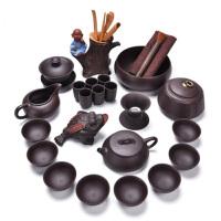 汉馨堂 茶具套装 紫砂壶功夫茶具套装家用泡茶壶茶杯茶叶罐茶道配件