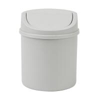 桌面垃圾桶家用带盖小号垃圾桶迷你桌上卧室床头茶几垃圾筒