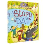儿童书籍A Story A Day 一个故事 原版英文 经典童话睡前亲子