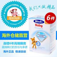 Hero Baby婴幼儿奶粉 荷兰本土herobaby奶粉3段(10个月以上适用)800g*6盒装 (海外购)