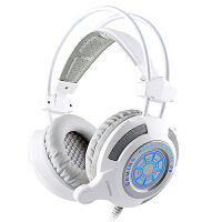 Cosonic G9电脑游戏耳机头戴式电竞网吧台式重低音线控耳麦带话筒