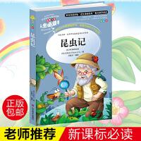 昆虫记彩图版3-5-6年级8-10-12岁儿童书籍中外名著青少年经典小说文学 小说读物畅销书中小学生课外阅读人生必读书