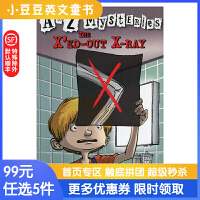 进口英文原版The X'ed-Out X-Ray A to Z 神秘案件 #24 X光片的秘密