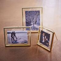 bencross简约现代相框摆台画框6寸7寸创意挂墙照片墙摄影画组合