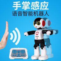 美致智能遥控机器人 手掌感应电动多功能声光唱歌跳舞儿童玩具