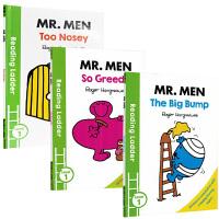 进口英文原版 Reading Ladder Level 1 Mr.Men 系列 3册合售 奇先生 妙小姐系列