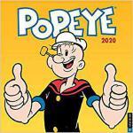 【预订】Popeye 2020 Wall Calendar 9780789336279