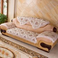 御目 沙发垫 客厅欧式防滑亚麻组合布艺四季通用皮沙发坐垫子沙发套沙发巾罩