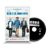 原装正版 抢钱老兵(DVD9)正版盒装电影DVD光盘 三个老枪手 摩根・弗里曼