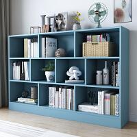 【限时直降3折】北欧书架简约客厅置物架落地桌上学生用书柜经济型组合小书架简易