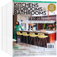 英国 KITCHENS BEDROOMS BATHROOMS 杂志 订阅2021年 E31 住宅别墅家居 厨房、卧房、卫