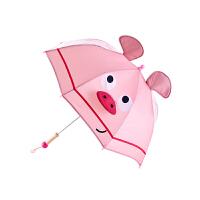 Hape小粉猪儿童雨伞男孩女孩儿童雨伞E8371