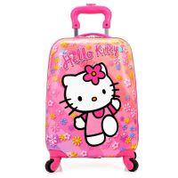 卡通儿童拉杆箱女18寸万向轮男孩行李箱小孩旅行箱拉杆书包