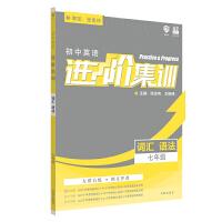 理想树2020新版初中英语进阶集训 七年级词汇语法 英语专项训练
